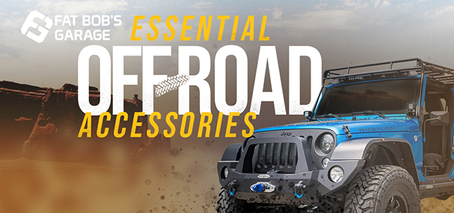 Essential Off-Road Accessories
